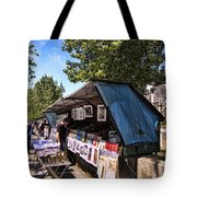 Newstand Along The Seine Tote Bag