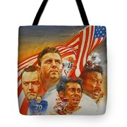 Nfl Hall Of Fame 1984 Game Day Cover Tote Bag