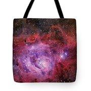Ngc 6523, The Lagoon Nebula Tote Bag