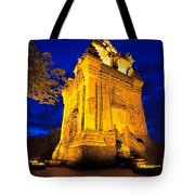 Nhan Tower.  Tote Bag
