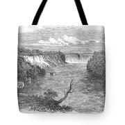 Niagara Falls, 1849 Tote Bag