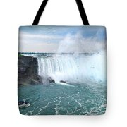 Niagara Falls And The Bubbles Tote Bag