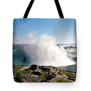 Niagara Falls From Above Tote Bag