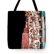 Nice Curtain Tote Bag by Tom Gowanlock