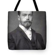 Nicholas II From Russia Tote Bag