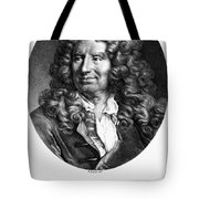 Nicolas Boileau (1636-1711). French Critic And Poet. Lithograph, French, 19th Century Tote Bag