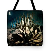 Night At The Desert's Edge Tote Bag