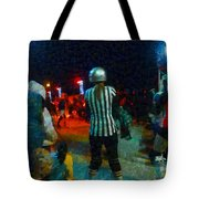Night At The Roller Derby Tote Bag
