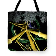Night Cheetah Tote Bag