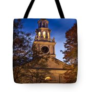 Night Church Tote Bag