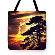 Night Falls Tote Bag