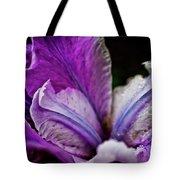 Night Iris Tote Bag