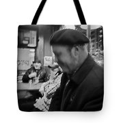 Night Life At The Bar Tote Bag