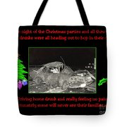 Night Of Christmas Tote Bag