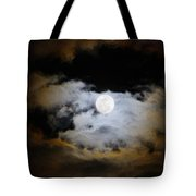Night Of The Full Moon Tote Bag