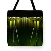 Night. One Day In Paradise. Maldives Tote Bag