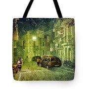 Night Scene In Sicily 2 Tote Bag