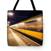 Night Speed Tote Bag