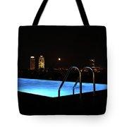 Night Swim Anyone Tote Bag