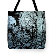 Nightingale Night Tote Bag