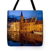 Nighttime Brugge Tote Bag