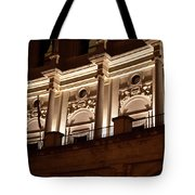 Nighttime Palace Tote Bag