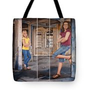 Nina And Francis 2 Tote Bag