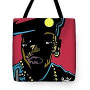 Nino Brown Full Color Tote Bag