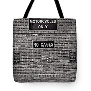 No Cages Tote Bag
