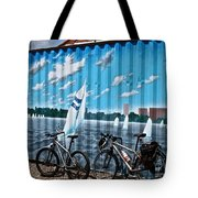 No Fossil Fuels Required Tote Bag