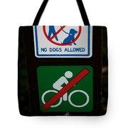 No Fun Allowed Tote Bag