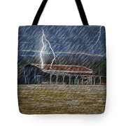 No Matter The Weather-work Goes On Tote Bag