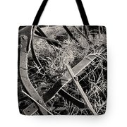 No More Plowing Tote Bag by Ron Cline