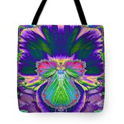 No Pansy Here Tote Bag