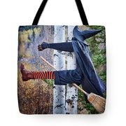 No Texting While Flying Tote Bag