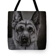 Noble - German Shepherd Dog  Tote Bag