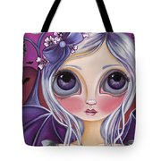 Nocturnal Moon Tote Bag