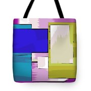 Nombre Abstrait 11 Tote Bag