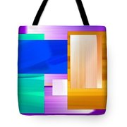 Nombre Abstrait 7 Tote Bag