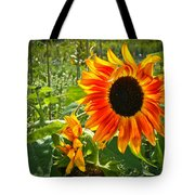 Noontime Sunflowers Tote Bag