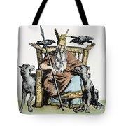 Norse God Odin (woden) Tote Bag