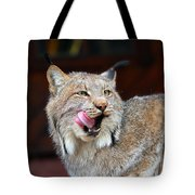 North American Lynx Tote Bag