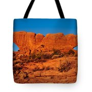 North And South Windows Tote Bag