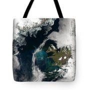 North Atlantic Bloom Tote Bag by Science Source