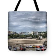 North Beach From Tenby Harbour Tote Bag