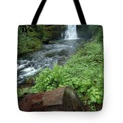 North Falls In Oregon Tote Bag