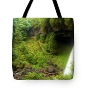North Falls Waterfall Tote Bag