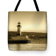 North Pier Lighthouse Tote Bag