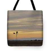 Northern California Windmill Tote Bag