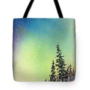 Northern Lights - D Tote Bag